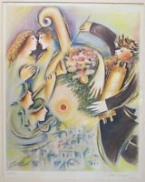 Zamy Steynovitz Rare Lithograph,large hand signed & numbered 26/300 VERY RARE!