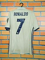 Ronaldo Real Madrid Jersey 2016 2017 Home SMALL Shirt Football Adidas S94992