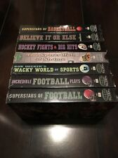 Lot Of 7 Vintage  VHS Global Marketing Sports Tapes
