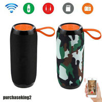 LOUD Bluetooth Speaker Wireless USB Outdoor Stereo Bass TF/FM Radio Waterproof