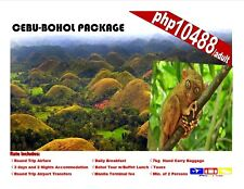 Cebu-Bohol Package Tour with Airfare