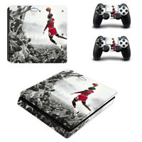 For Playstation 4 PS4 Slim Vinyl Console Skin Decal Controller Sticker #4