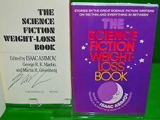 The SF Weight Loss Book by George RR Martin 1st Isaac Asimov Stephen King SIGNED
