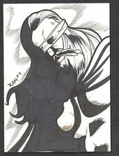 PROJECT SUPERPOWERS (Breygent/2011) SKETCH CARD by RICH MOLINELLI #51/100