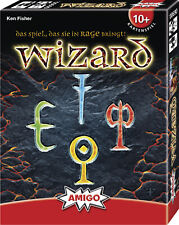 Wizard Kartenspiel - Amigo Spiel - Wizzard - Das Spiel, das Sie in Rage bringt!