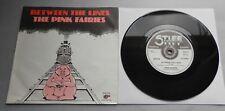 "Le Fate Rosa-tra le linee UK 1979 rigida RECORDS 7"" SINGLE P/S"