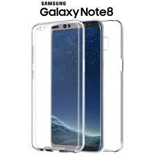 Funda Proteccion 360º Gel TPU Hibrida Transparente para Samsung Galaxy Note 8