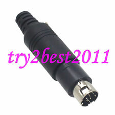 1pce 9 pin Male Mini Din Connector soldering