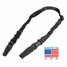 CONDOR CBT Tactical Double Bungee Military Two Point Sling Black