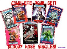 """2018 Garbage Pail Kids The Horror-Ible """"Pick-A-Single"""" Red Sticker Nm/Mint"""
