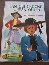 La Comtesse de Ségur: Jean qui grogne et Jean qui rit / Bibliothèque Rose, 1977