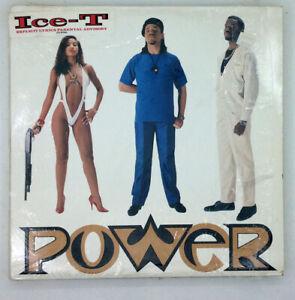 ICE T LP Power SIRE og EX shrink STICKER w/ printed sleeve Nice Copy