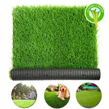 13x7 ft Artificial Grass Floor Mat Synthetic Landscape Lawn Turf Garden Carpet