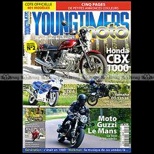 YOUNGTIMERS MOTO 2 HONDA CBX 1000 SUZUKI GSXR 750 YAMAHA DTLC 125 GUZZI LE MANS