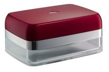 Wesco Butter Dish Plastic Metal Grandy Pushboy Paper Towel Holder Acrylic Ruby Red
