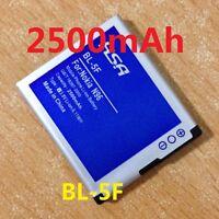 2500mAh BL 5F Battery Nokia 6290 E65 N93i 6210 N96 6210S 6710N N95