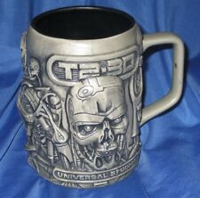 TERMINATOR 2 T2-3D Universal Studios ENDOSKELETON Sculptured Mug/Stein (Movie)