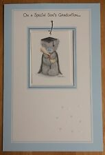 "'Son Graduation' Large 3D Me To You Card - Tatty Bear - 9""x6"" - Congratulations"