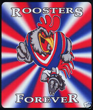 1  x SYDNEY ROOSTERS OR OTHER RUGBY LEAGUE MOUSE MAT / SMALL PLACE MAT