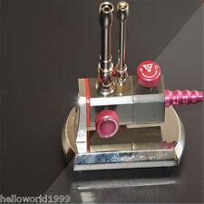 Dental Micro Bunsen Burner Rotatable Gas Propane Light Lab Equipment Double Tub