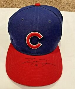 *VERY NICE* Reed Johnson AUTOGRAPHED/SIGNED CHICAGO CUBS Adjustable Cap/Hat--COA