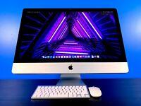 ULTRA Apple iMac 27 | 3.4GHZ TURBO | 16GB RAM | 1TB HDD | MacOS | WARRANTY