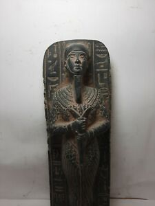 RARE ANTIQUE ANCIENT EGYPTIAN Statue God Ptah Crafts & Architects 1837-1768 Bc