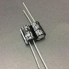 50pcs 10uF 250V Rubycon BXC 8x12mm 250V10uF High Ripple Long Life Capacitor