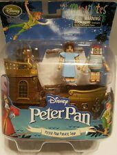 Disney MiniMates Peter Pan Jolly Rodger Pirate Ship Playset Figurine Wendy, Mr S