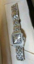 Van Belinger Stainless Steel & Diamond Swiss Quartz Watch Cartier Panther Style