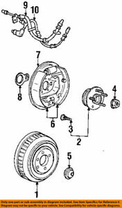 GENUINE FORD WINDSTAR 1995-03 R Rear Brake Line Hydraulic Flex Hose 3F2Z-2282-CB