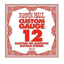 ERNIE Ball Custom Gauge corda di chitarra unica per eectric/acustica (12)