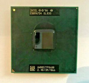 INTEL CORE 2 DUO P8600 MOBILE - SLB3S - 2,40GHz/3M/1066 - Sockel P #328