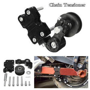 Aluminum Automatic Adjuster Chain Tensioner Motorcycle Roller Tool Bolt Screw On