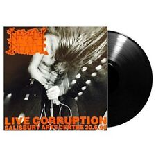 NAPALM DEATH - Live Corruption LP - Death Metal Grind 1990 - Black Vinyl -SEALED