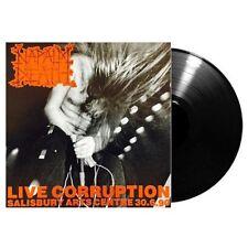 NAPALM DEATH - Live Corruption LP - Death Metal Grind 1990 - Black Vinyl -SEALED