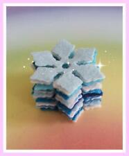 20 x Snowflake Craft Blank Shape Decorations Embellishments Christmas cards 0017