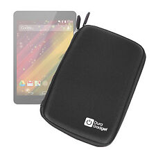 Hard Black EVA Dual Zip Protective Case for HP 8 G2 Tablet