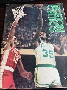 Boston Celtics 1973/74 Official Program Guide. Excellent condition