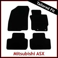 MITSUBISHI ASX  Mk3 2010 onwards Tailored Fitted Carpet Car Floor Mats BLACK