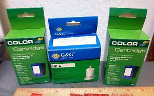 HP ink Cartridge refill kit, 2 empty Cartridge new in box, Black refill kit