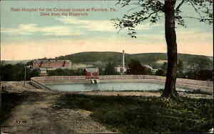 State Hospital For Criminal Insane Farview PA c1910 Postcard