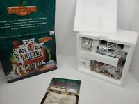 *OPEN BOX* Lemax Coventry Cove Village Post Office U.S. Mail 2003 Lighted House