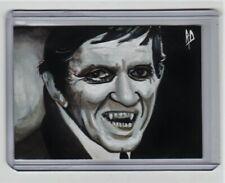 Dark Shadows Sketch Card Barnabus Collins Horror Original Art Aceo 1/1 Decker