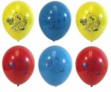"(6ct) Inside Out Birthday 12"" Latex Balloons Party Supplies"