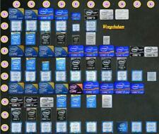 2PCS - intel i3 i5 i7 haswell sandy ivy bridge skylake extreme ati AMD Sticker