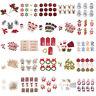 Christmas Santa Reindeer Embellishments Craft Card Making Scrapbooking Snowman