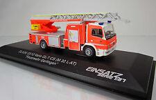 """Rietze 71614 Mercedes Benz Atego DLK L-AS """" Feuerwehr Gerlingen"""" (Einsatz-Serie)"""