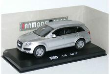 Rare 1/43 Audi Q7 Silver Quattro 4.2 2006  SUV San model Design Rome Italy