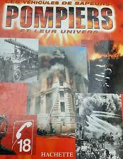 Véhicules de sapeurs pompiers - Hachette Solido 1/43